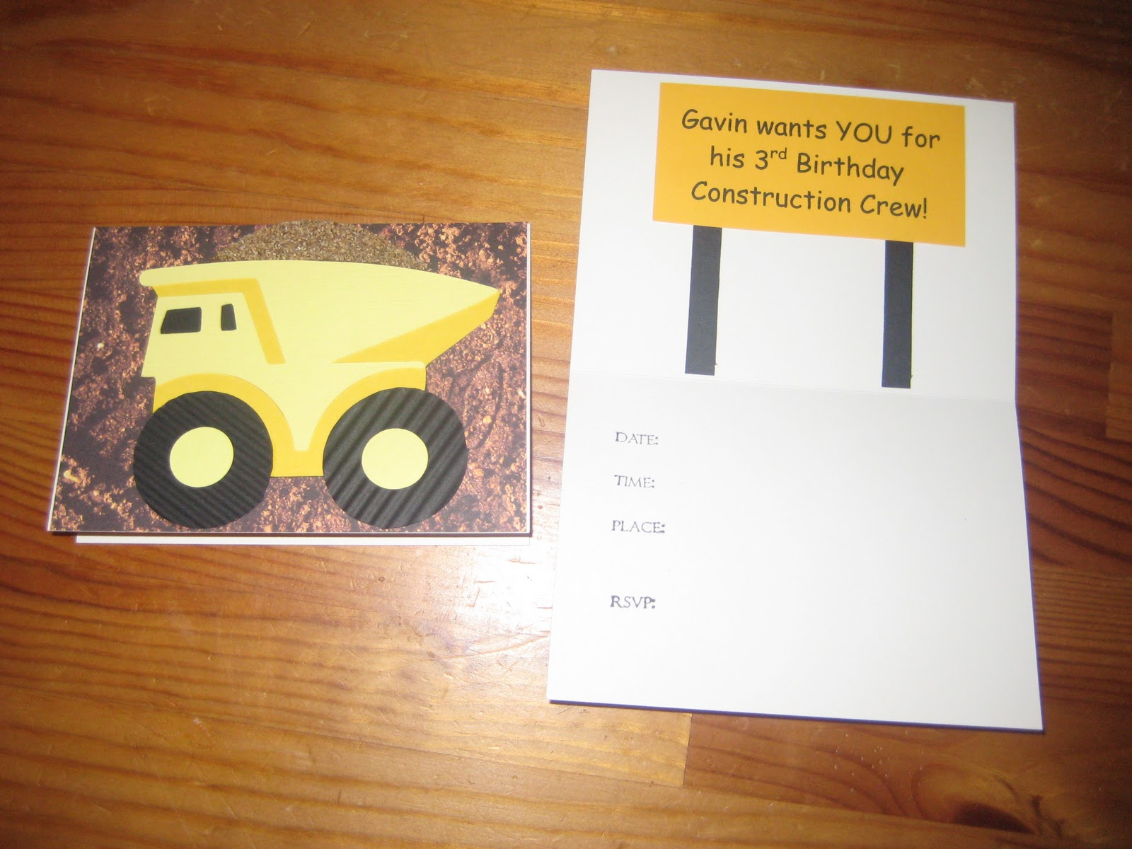 HollyLous Paper Partiesand More Tonka Truck Birthday Party – Tonka Birthday Invitations