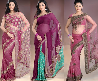 beautiful saree collections