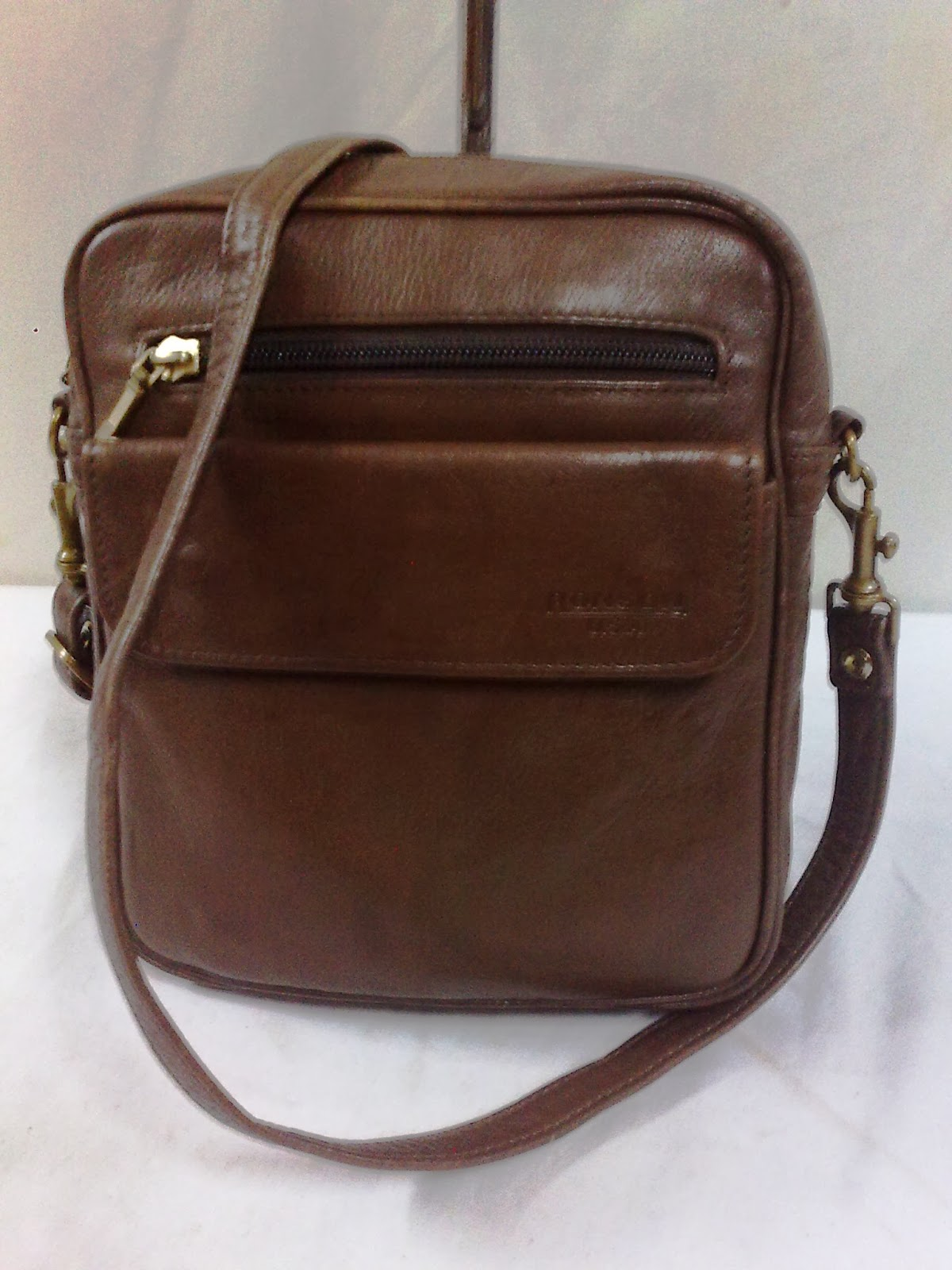 Authentic RONSON U.S.A mini Leather Sling Bag (SOLD)