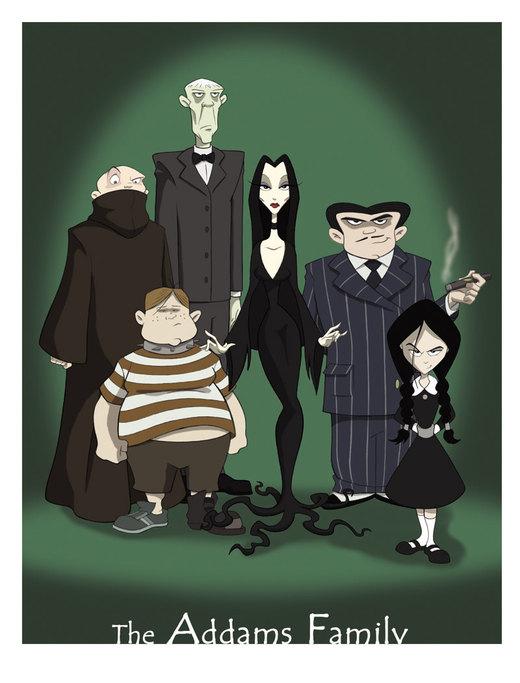 the Addams Family por BrianMainolfi