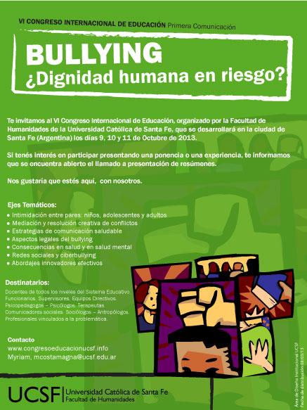 Facultad de Humanidades: Llamado a presentación de resúmenes: VI Congreso Internacional de Educación