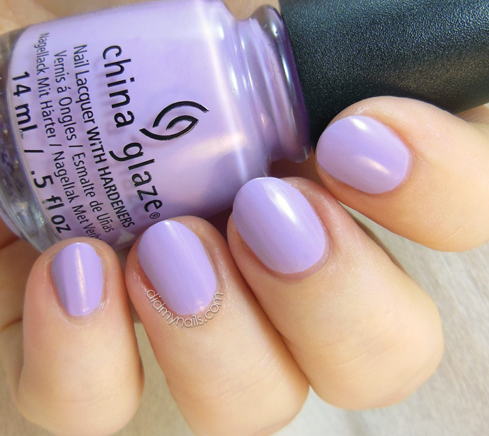 China Glaze Lotus Begin swatch