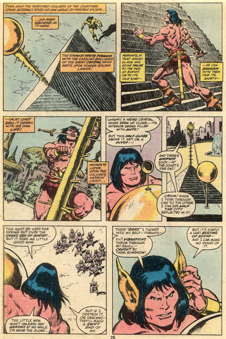 Conan the Barbarian (1970) Issue #111 #123 - English 15