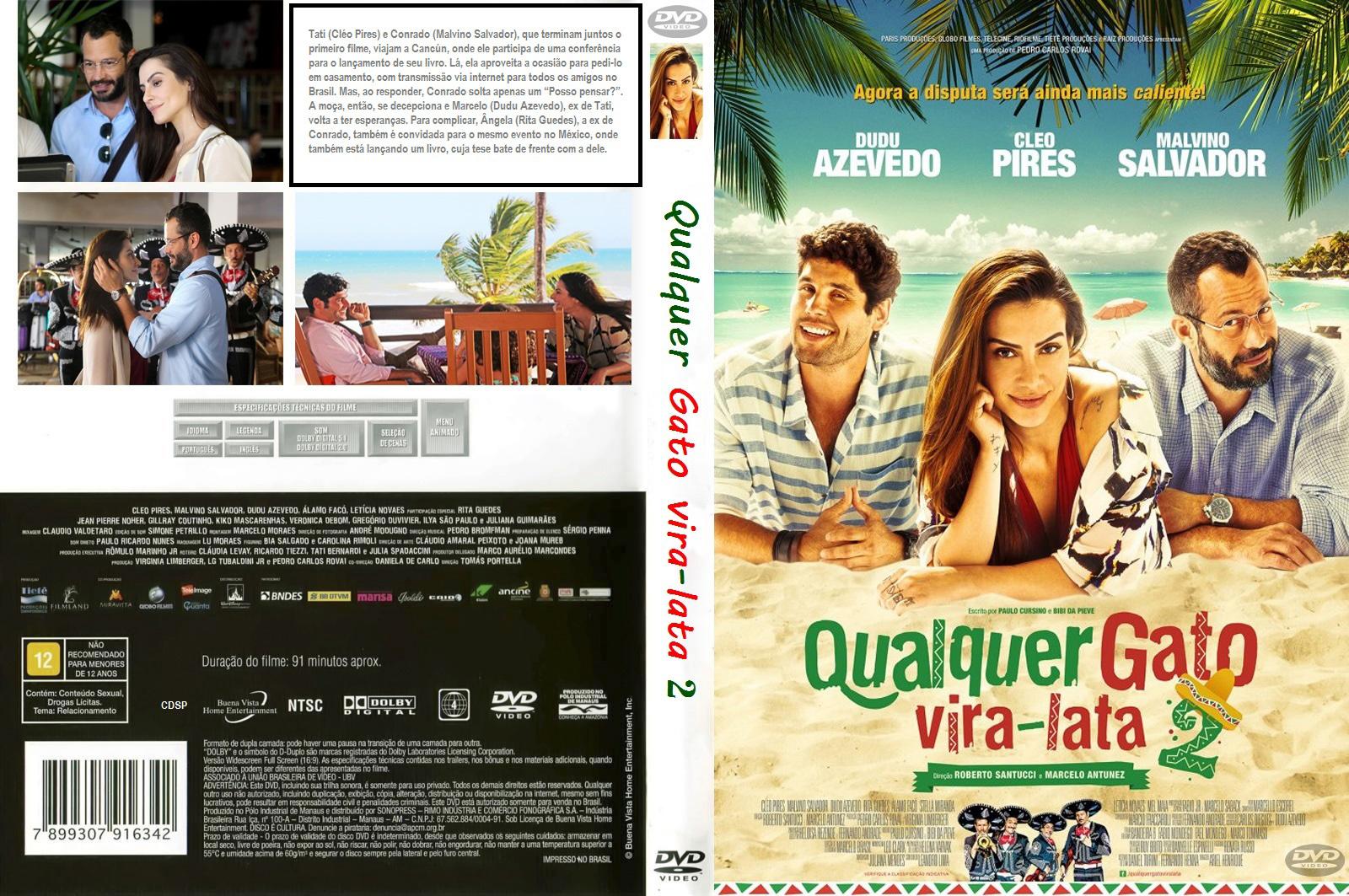Download Qualquer Gato Vira-Lata 2 DVD-R QUALQUER GATO VIRA LATA 2