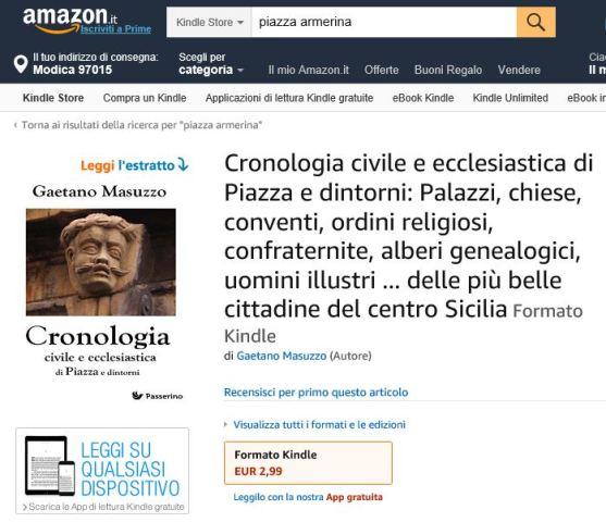 CRONOLOGIA DI PIAZZA ARMERINA