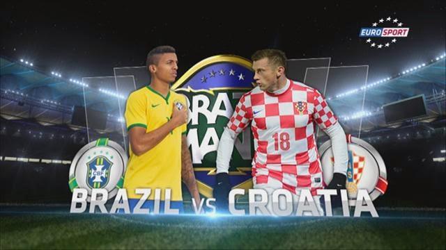 مباراة البرازيل وكرواتيا بث مباشر علي قناة بى ان سبورت 12-6-2014