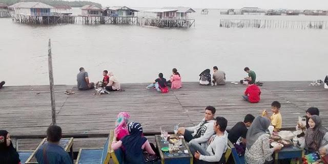 Bontang Kuala, Kampung di Atas Laut Kota Bontang