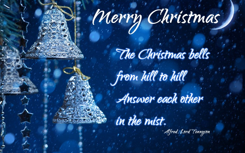 Merry Christmas Bells Images