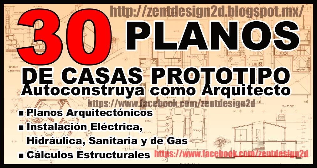 30 floorplans 30 planos de casas pdf zent design 2d for Planos estructurales pdf