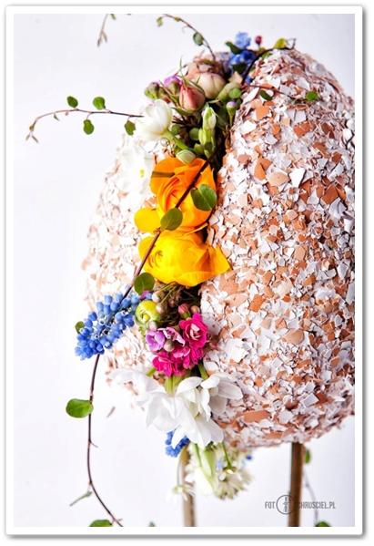 floral design easter eggs, floristiska påskägg