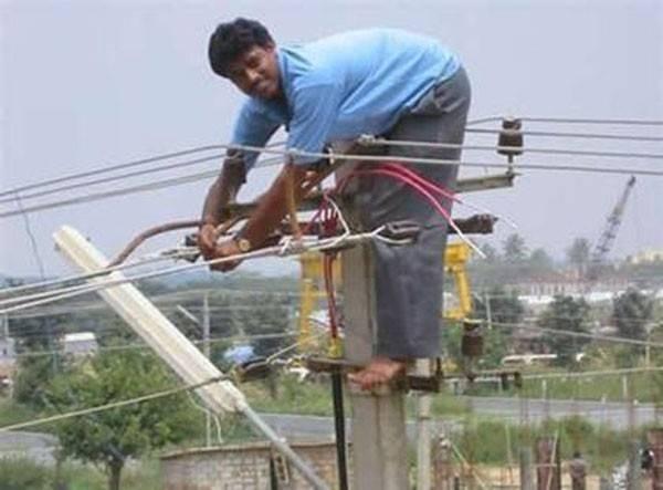 ladrón de electricidad