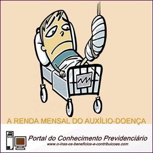 A renda inicial no Auxílio-doença, um exemplo prático.