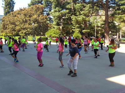 Zumba Party On The West Steps Of The California State Capitol In Honor Of National Dance Day (07/26/14)