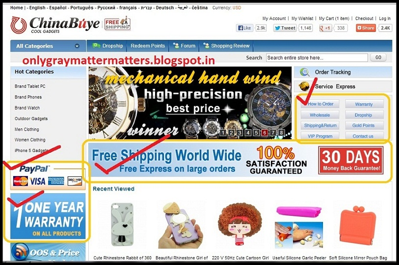 chinabuye.com International Online Shopping Free Shipping from China