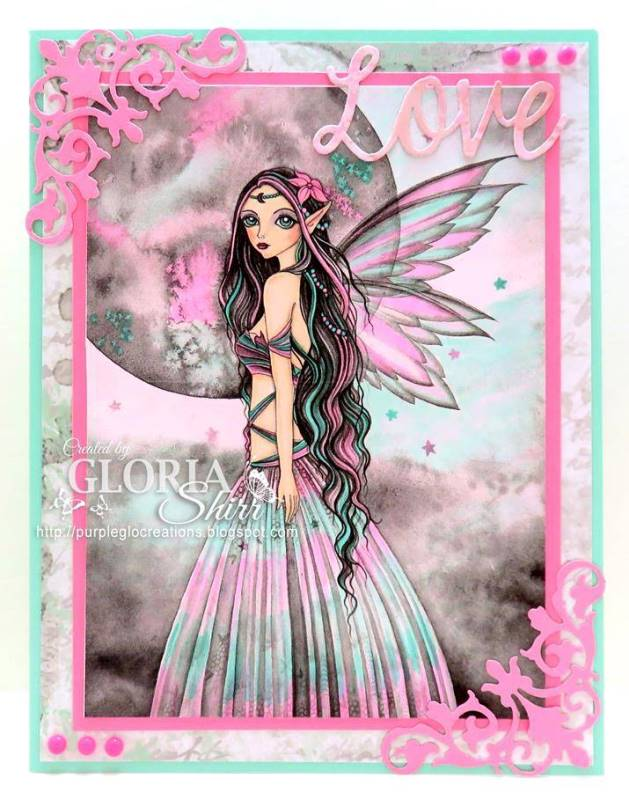 Featured card at Creative Moments Challenge Blog