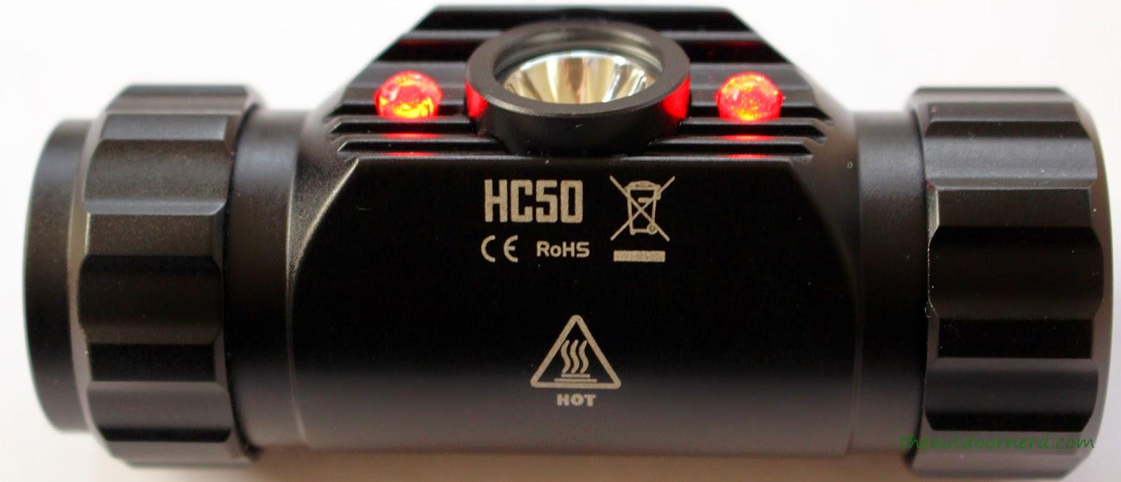 Nitecore HC50 Headlamp View 2