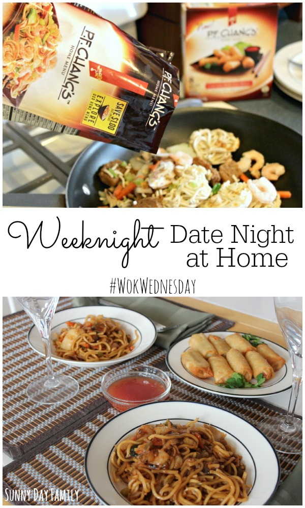 Having trouble planning a date night? How about a date night at home! It's easy to plan a weeknight date for you and your special someone - these tips show you how!