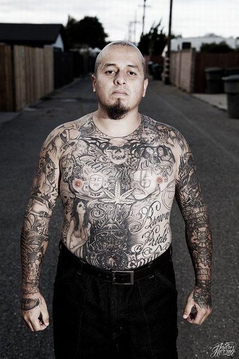 Maras Y Pandillas Latinas Tatuajes Chicanos Galería De Imagenes