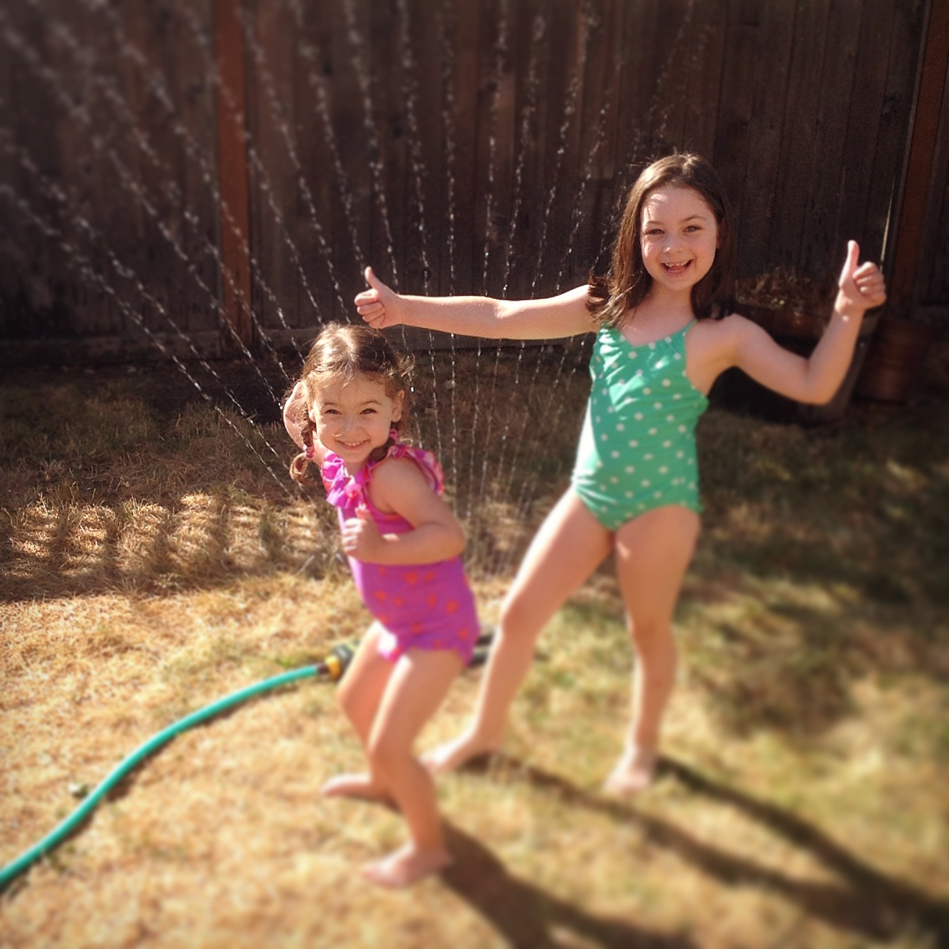 First time in sprinkler || VeryShannon.com