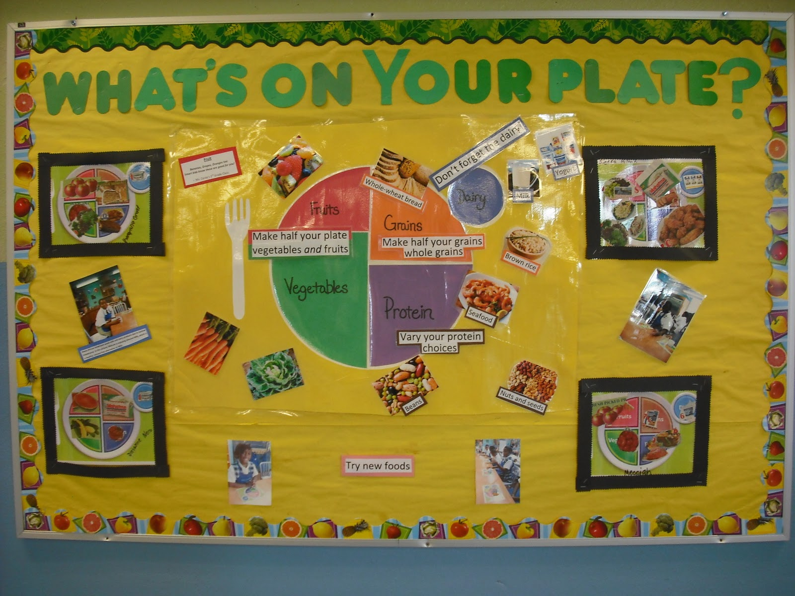 Classroom Bulletin Board Ideas Nutrition Month : Firstline schools the latest news in education for