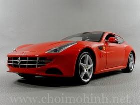 Xe mô hình tĩnh Ferrari FF RED hiệu Hot Wheels tỉ lệ 1:18