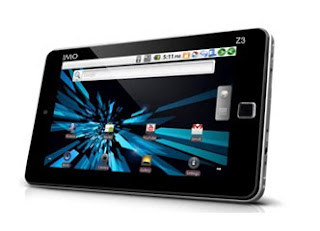 harga spesifikasi tablet android IMO Tab Z3 paling murah 2012