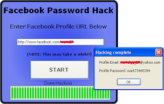 Screenshot Facebook Password Hack
