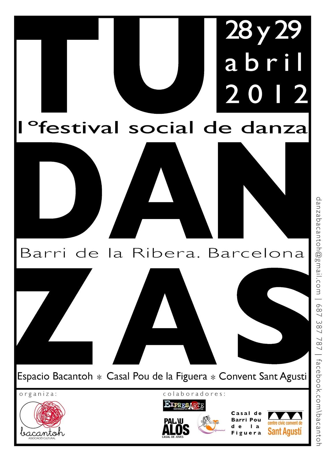 1º FESTIVAL SOCIAL DE DANZA| BARRI DE LA RIBERA