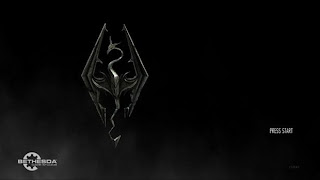 Skyrim title screen