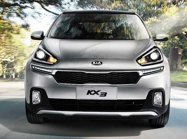 Kia KX3 - concorrente do Honda HR-V