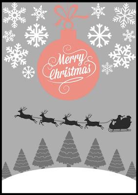 christmas poster świąteczny