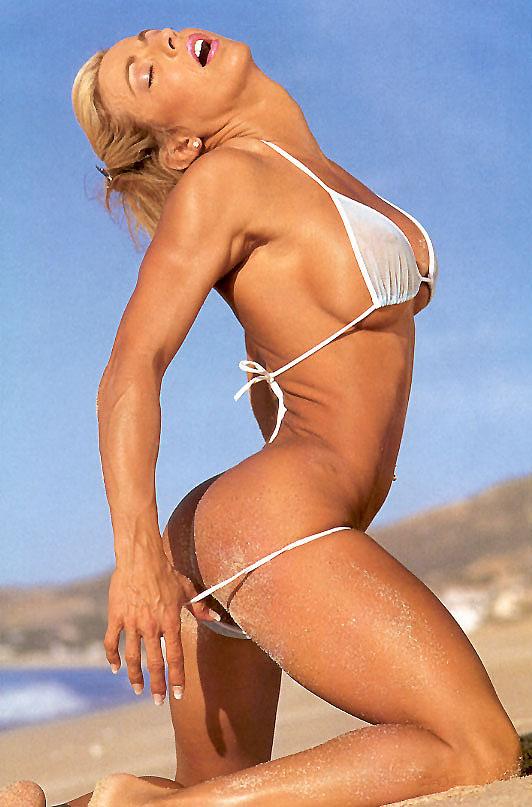 Karen Zaremba White Bikini