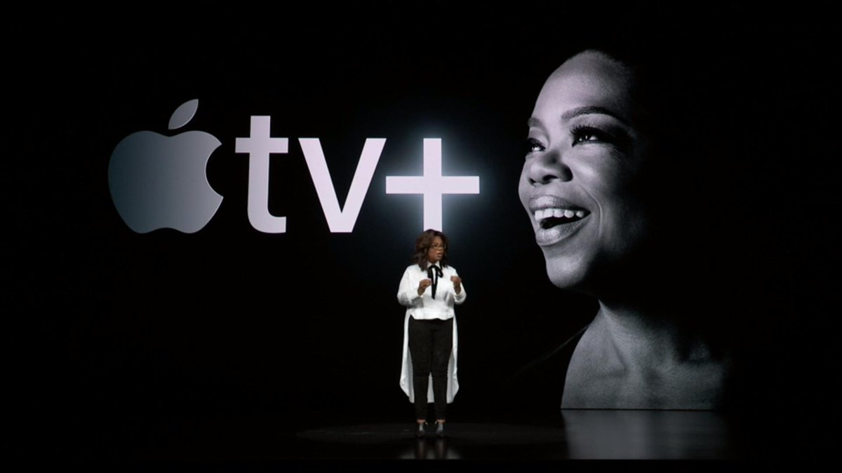 Oprah e Spielberg, Apple