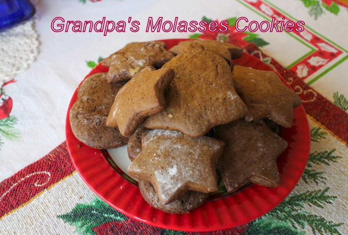 http://lilacsandspringtime.blogspot.com/2014/12/grandpas-molasses-cookies.html