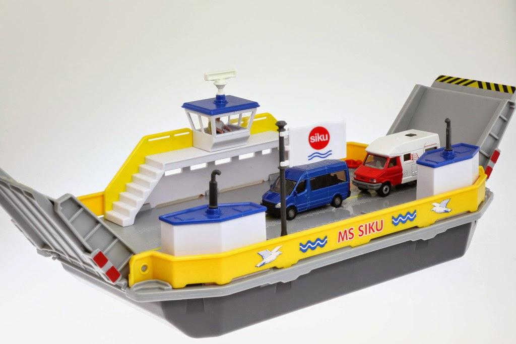 3inchdiecastbliss Siku Car Ferry 100 Play Value