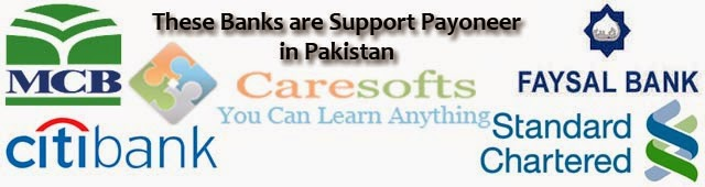 Payoneer Support these bank in pakistan