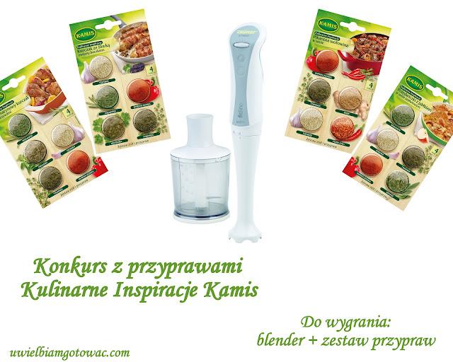 Konkurs z przyprawami Kulinarne Inspiracje Kamis