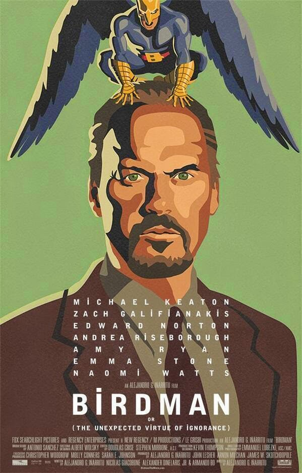 Birdman (or The Unexpected Virtue of the Ignorance)
