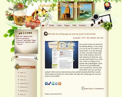Download Template Special Premium Resep Makanan SEO Respoinsive