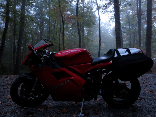 Ducati 916 Morning Fog