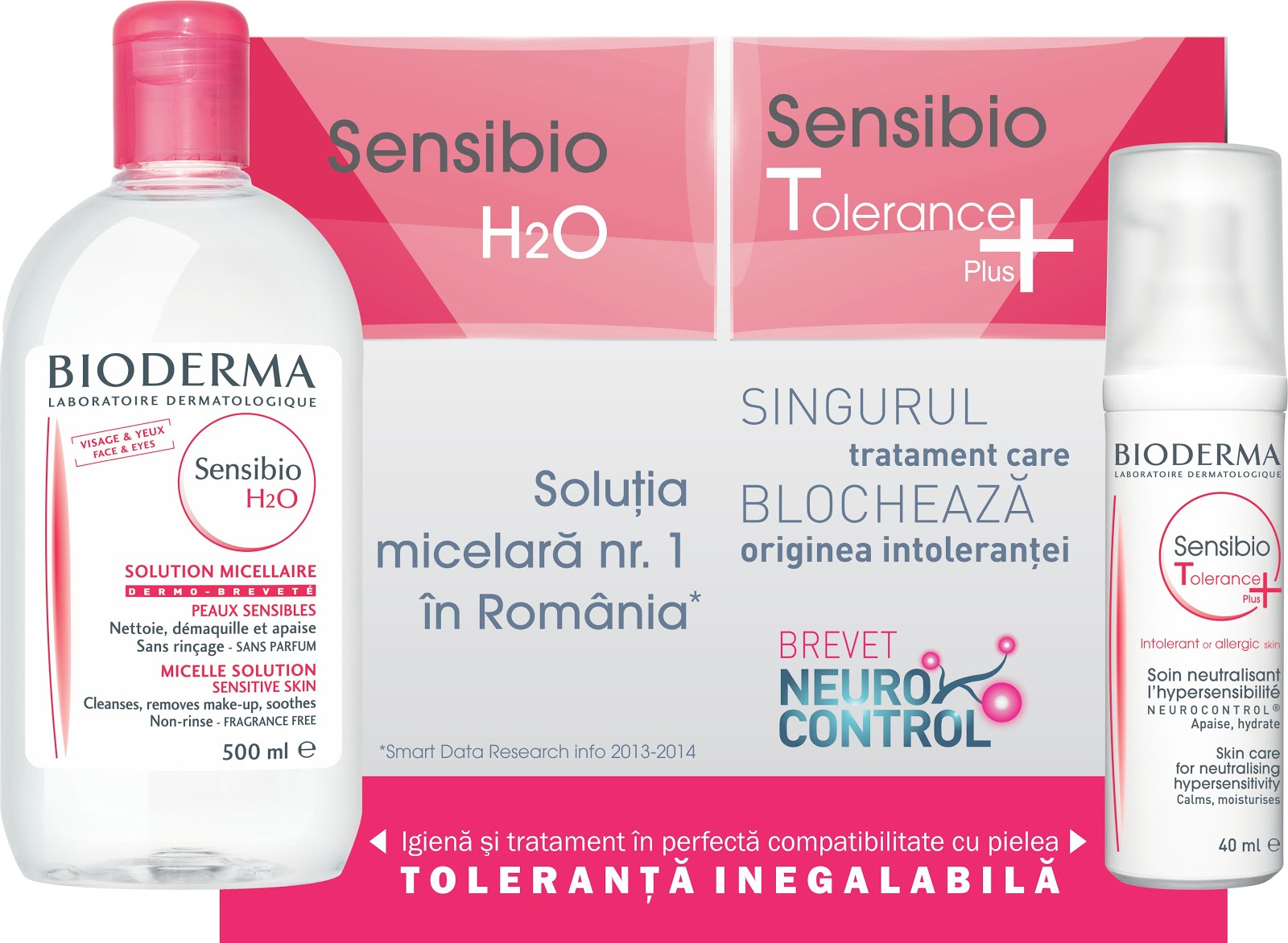 Bioderma, sensitive skin