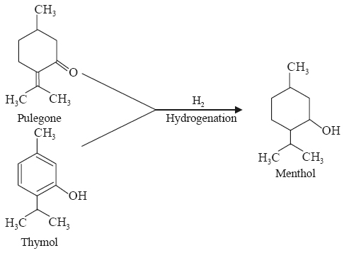 Synthetic racemic menthol