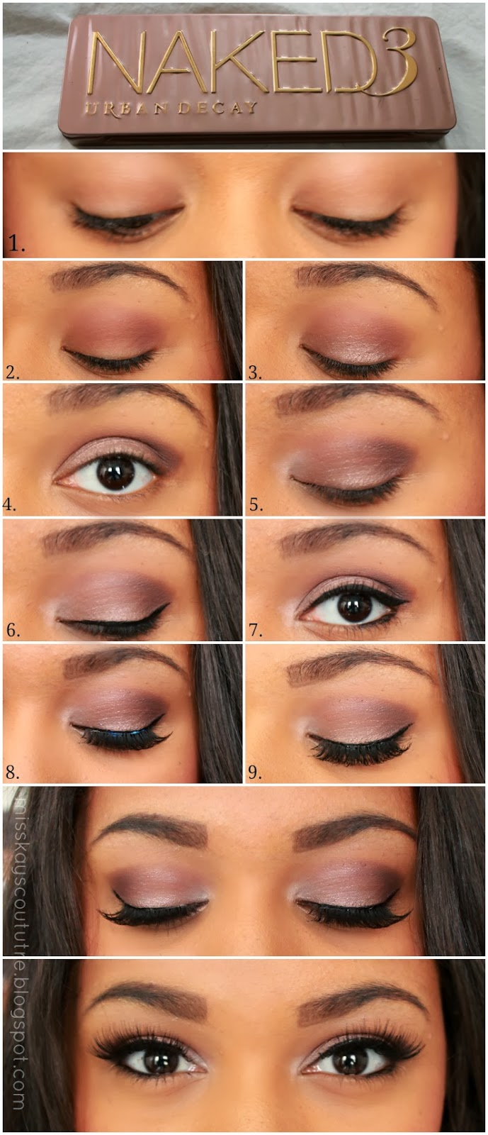 pictorial ud naked 3 smokey eye kay 39 s couture rose 39 s reviews. Black Bedroom Furniture Sets. Home Design Ideas