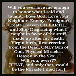 We'll never love Jesus