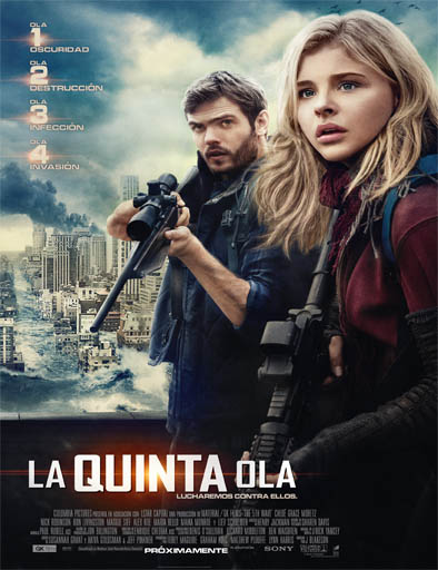 Ver La quinta ola (The 5th Wave) (2016) Online