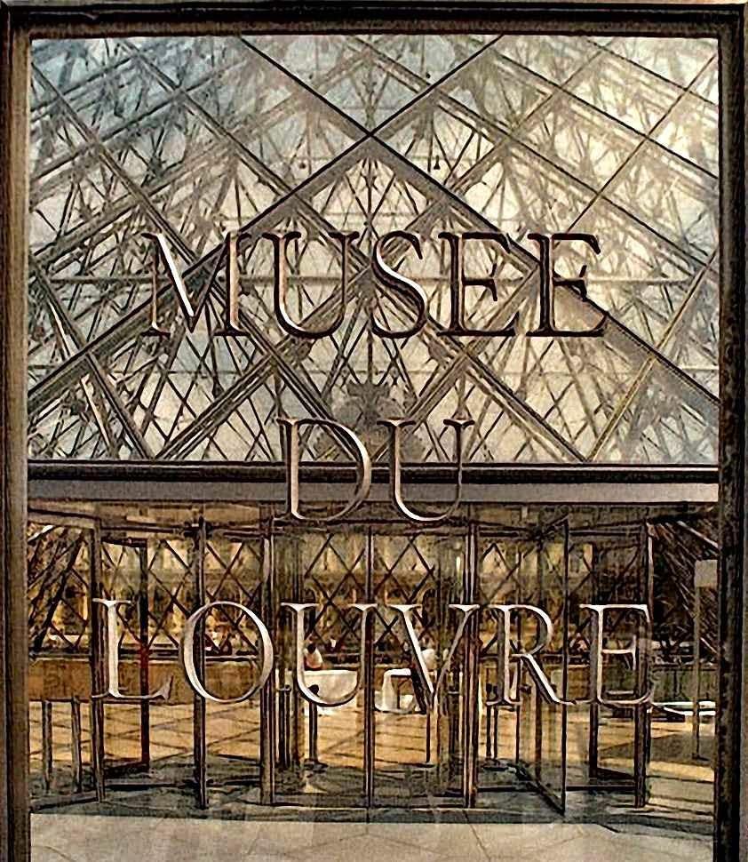 Entrada do Museu do Louvre, Paris