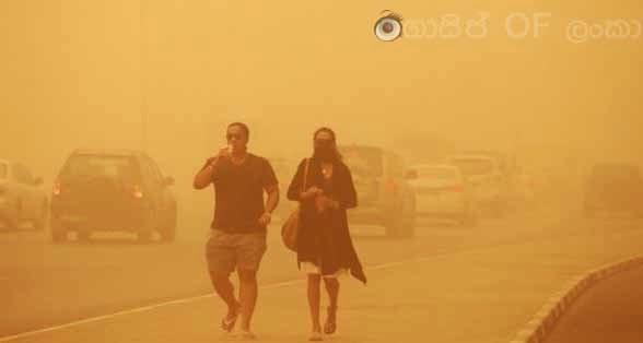 Gossip Lanka News - Severe sandstorm hits United Arab Emirates