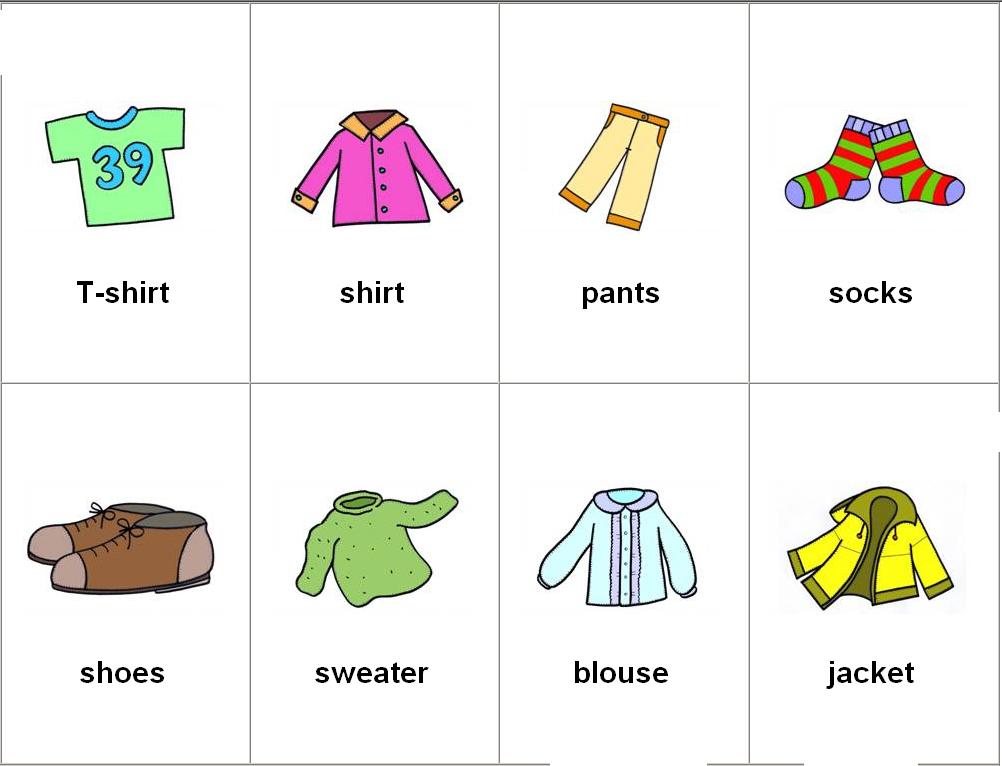 Leer y Aprender Juntos: La ropa en ingles