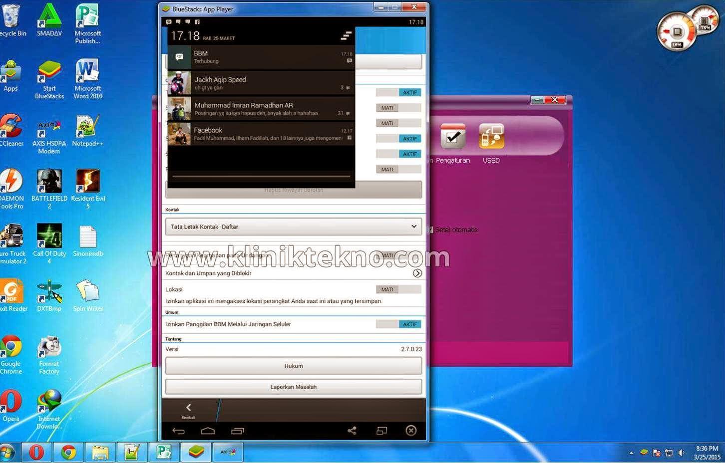 Cara Terbaru Instal Aplikasi BBM Android Untuk PC dengan mudah dan simple
