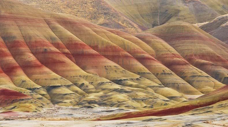 Las colinas pintadas de Oregon